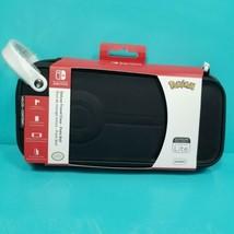 Nintendo Switch Poke Ball Edition Deluxe Travel Pokemon Carrying Case Lite New - $21.77