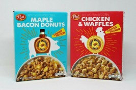 Post Limited Honey Bunches of Oats Chicken & Waffles Maple Bacon Donuts ... - $20.18