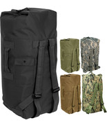 "Double Strap Military Carry Duffle Bag Backpack Heavyweight Nylon -  24""... - $42.99+"