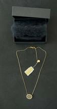 Michael Kors Woman's Monogram Gold-tone Necklace, Crystals, MKJ5370710, ... - $67.97