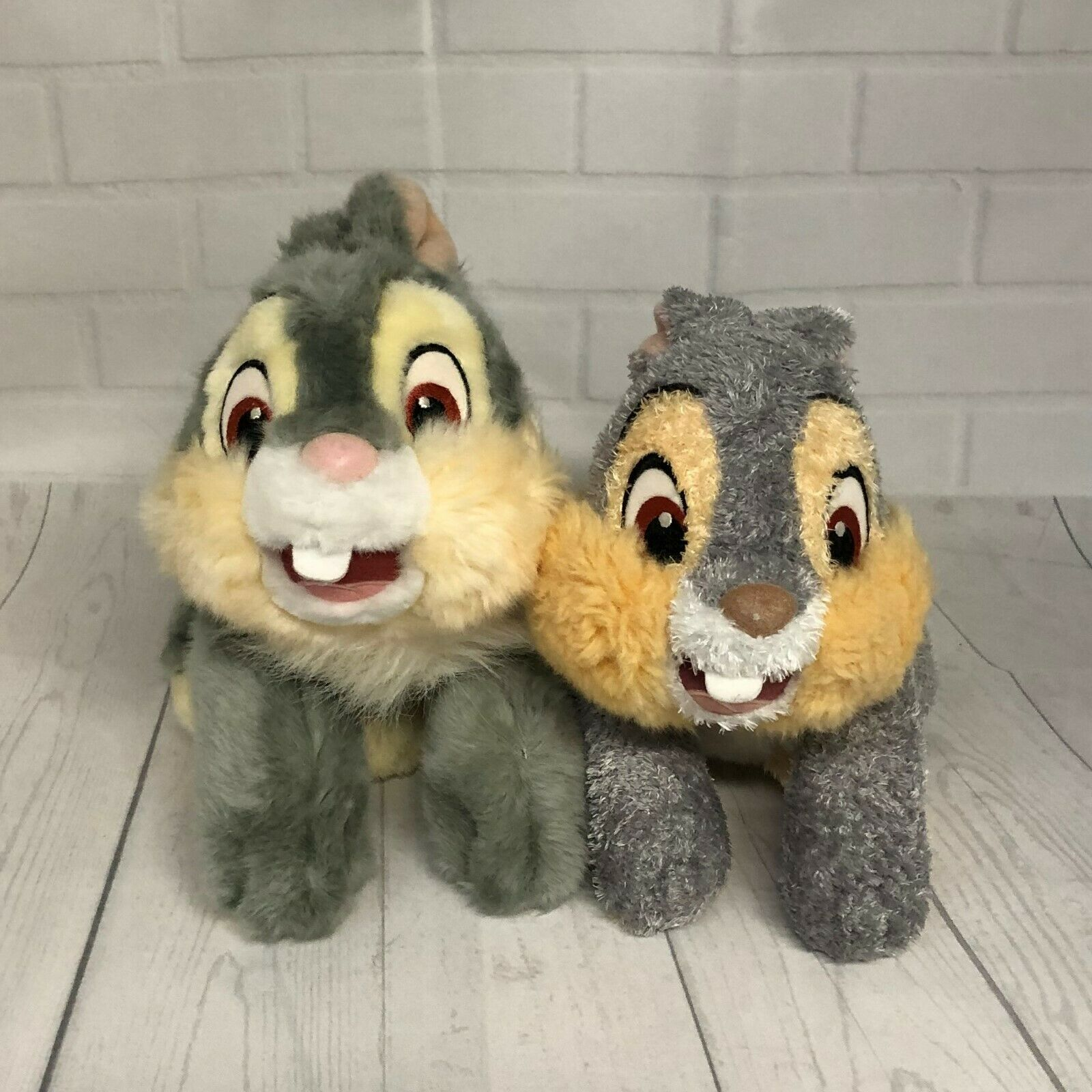 "Primary image for Bambi's Thumper & Core Rabbit Friends 11"" Stuffed Plush Lot of 2"