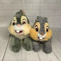 """Bambi's Thumper & Core Rabbit Friends 11"""" Stuffed Plush Lot of 2 - $28.04"""