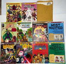 Villains and Vigilantes Vintage 10 RPG Modules and Character Record Sheets - $110.00