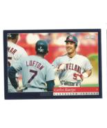 Carlos Baerga 1994 Score Card #53 Cleveland Indians Free Shipping - $0.99