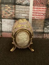 The San Francisco Music Box Company Cameo Hinged Trinket Box - $75.00