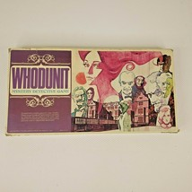 Whodunit Mystery Detective Board Game Vintage 1972 100% Complete 2 to 6 ... - $24.23