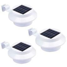 NORDSD WTD Fonctionne à l'énergie solaire 3 LED pour barrière ou gouttiè... - $28.99