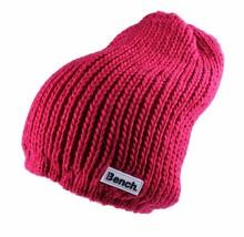 Bench Femmes Cerise Jayme Tricot Acrylique Souple Chapeau Bonnet Hiver BLWF0011