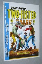 Original 1970's EC Comics Two-Fisted Tales 36 old west cowboys art cover poster - $29.99