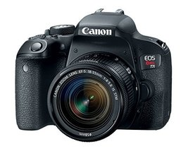Canon EOS Rebel T7i US 24.2 Digital SLR Camera with 3-Inch LCD, Black (1... - $820.71