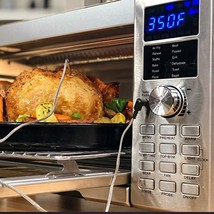NUWAVE Bravo XL 1800-watt Smart Air Fryer Convection Oven with Integrated Digita