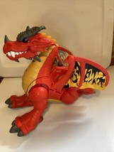 """2012 Fisher-Price Imaginext Eagle Talon Castle Red Dragon 14""""  Working Tested - $29.95"""