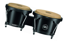 Meinl Percussion HB50BK Standard Size ABS Plastic Bongos with Natural Sk... - $82.23