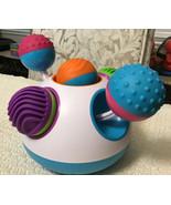 """Fat Brain KLICKITY Developmental Toy - Push """"Klick"""" Spin Rattle! Motor S... - $23.76"""