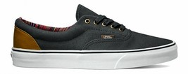 Vans Era (Indo Pacific) Dark Shadow/True White Gray Skate Shoes WOMEN'S 8 - $47.95