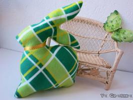 Throw Decorative Pillow Handmade - Bunny Shaped- Patio Decoration-Birthday - $25.00