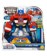 Playskool Heroes Transformers Rescue Bots Electronic Optimus Prime Figur... - $33.57