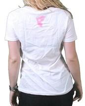 Famous Stars & Straps Womens White Multi Culture V-Neck T-Shirt Juniors T-Shirt image 2