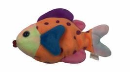 Ty Beanie Babies Original Collection Lips The Fish 1999 Polka Dot Orange - $5.44