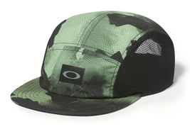 Oakley Mens 5 Panel Performance Hat Cap, Viper, BNWT One Size/Adjustable - $29.75