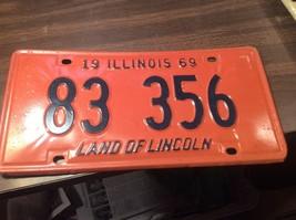 Vintage Illinois License Plate -  - Single Plate  1973 - $16.82