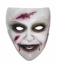 Transparent Female Zombie Mask Costume Accessory - $8.49