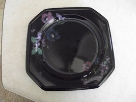 Mikasa salad plate  (Midnite Magic) 2 available - $2.72