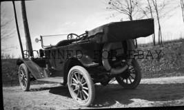 1900s Unidentified Nice Old Car Lansing Michigan Lantern ORIGINAL PHOTO ... - $12.50