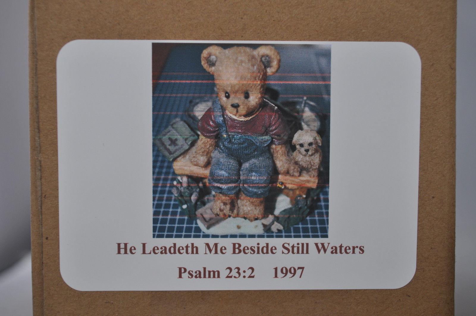Beary Hill Bears - Boy With Bike - Classic Figurine image 3