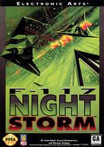 F-117 Night Storm Sega Genesis Video Game - $6.97