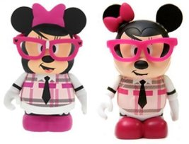 Vinylmation 3 Nerds Minnie Mouse Figure by Disney - $39.55