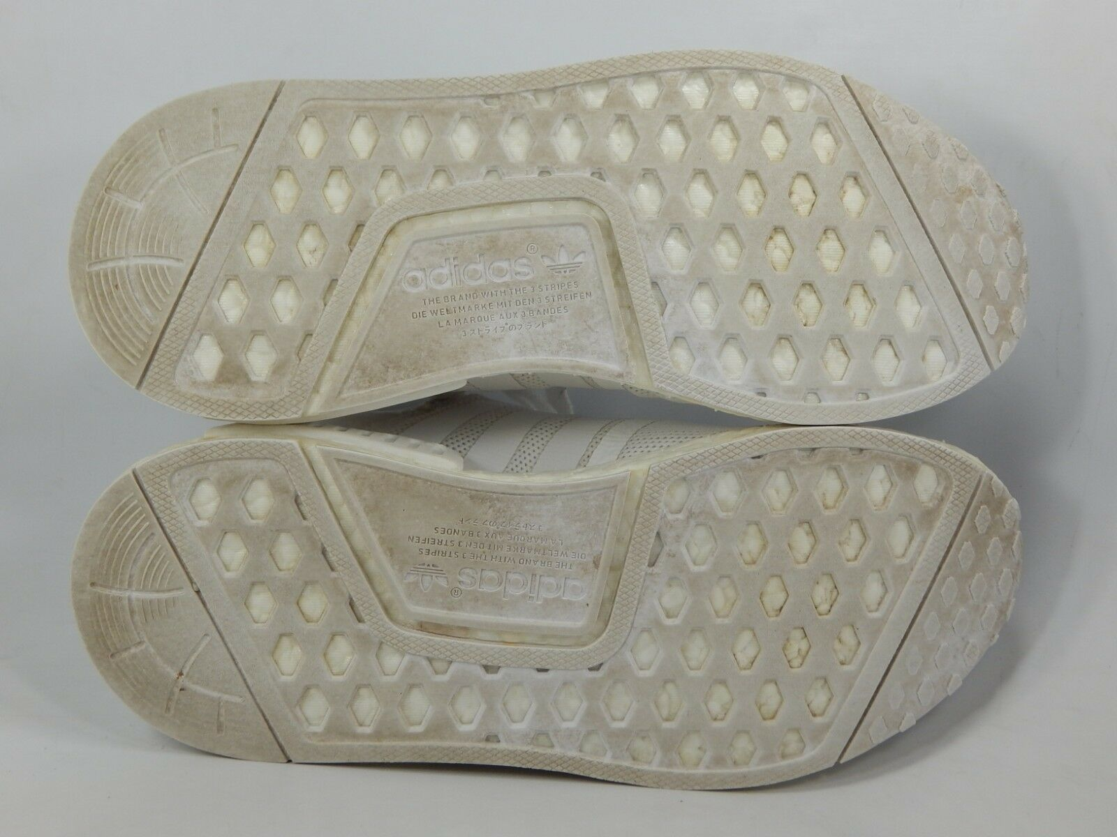 Adidas Nmd R1 Triplo Bianca Taglia 5 M (Y) Eu 37 1/3 Giovanile Scarpe da Corsa