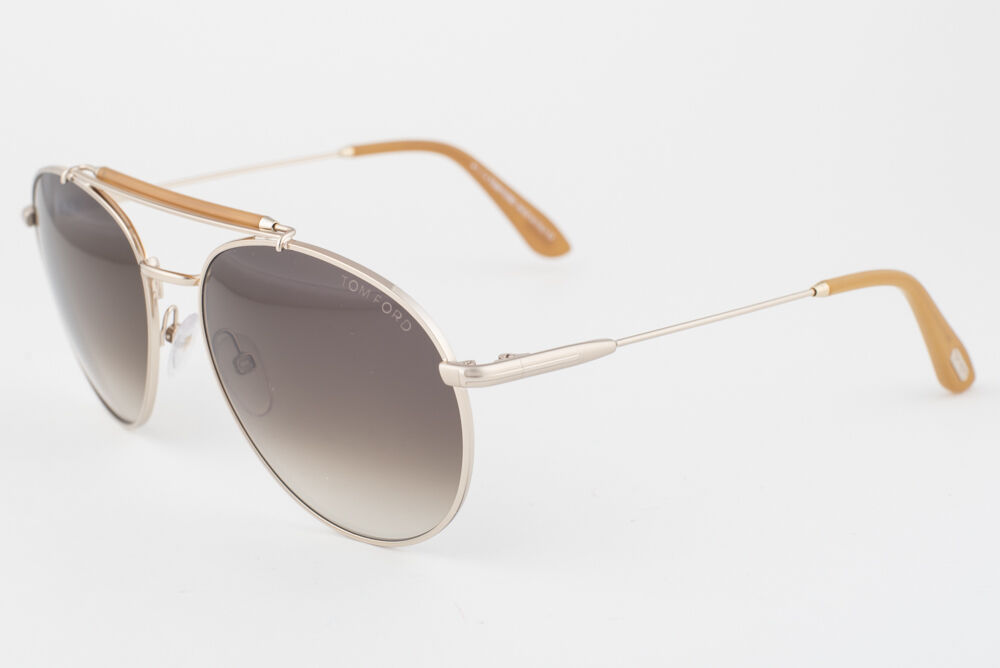 Primary image for Tom Ford Colin Gold / Brown Gradient Aviator Sunglasses TF338 28F