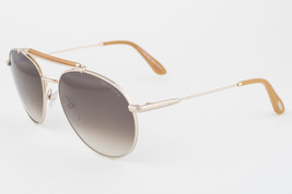 Tom Ford Colin Gold / Brown Gradient Aviator Sunglasses TF338 28F - $175.42