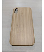 EcoQuote iPhone X Bamboo + Hard PC Phone Case Bamboo Finishing Special F... - $28.00