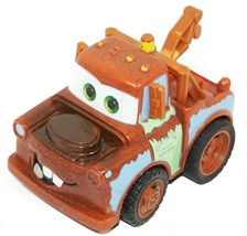 """TOW MATER FROM DISNEY PIXAR CARS - TOY PULL BACK 3"""" TRUCK FIGURE USED - $9.88"""