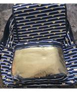 No Boundaries Nylon Flap Backpack with Vinyl Pocket, Metallic Gold, Bran... - $21.29