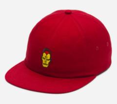 Vans x Marvel Iron Man Strapback Jockey Hat Dark Red - $24.99