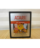 Ms. Pac-Man (Atari 2600, 1982) Cartridge Only, Tested & Working (1 of 2) - $11.29