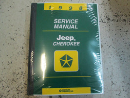 1998 Jeep Cherokee Service Shop Repair Manual Factory Dealership 98 Book Oem - $148.45