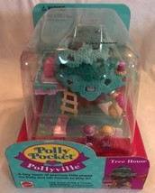 Polly Pocket Pollyville Tree House Dolls 1994 - Vintage - Brand NEW Seal... - $189.99