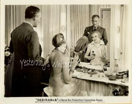 Jean Muir Desirable Dressing Room Vanity 1934 Photo