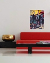 1 gondoliers in living room red couch decor thumb200