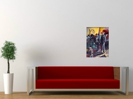 4 gondoliers in red sofa white wall thumb200