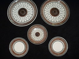 Royal China, CAVALIER ironstone -- Casa del Sol pattern; 6 pieces - $24.98