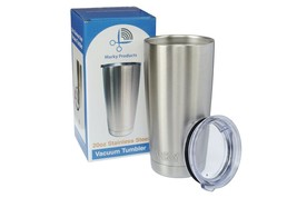 Stainless Steel Tumbler 24 Hour - 20oz Premium Double Wall Vacuum Insulated - $12.19