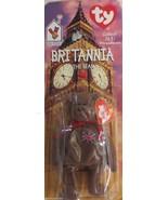 McDonald's Ty Teenie Beanie Britannia The Bear  1999 DOB 12/15/1997 - $3.56