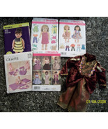 Doll Clothes Patterns 18 inch Dolls + Victorian Dress - $15.00