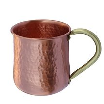 An item in the Pottery & Glass category: De Kulture Handmade Pure Copper Mug Moscow Mule Large 16 Oz