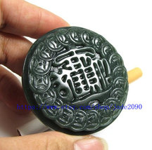 Free Shipping -  Hand- carved Natural green bring for you Wealth jade charm Belt - $26.99